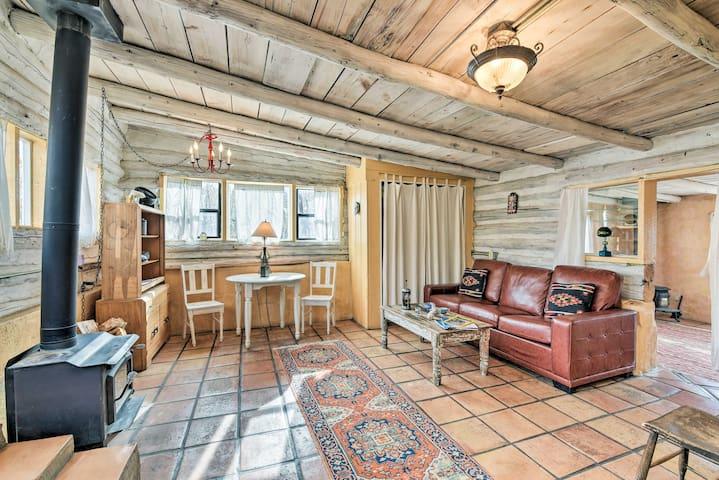 NEW! Historic + Dog-Friendly Eco Cabin Near Taos!