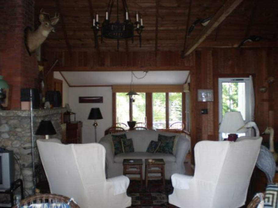 view of the living room