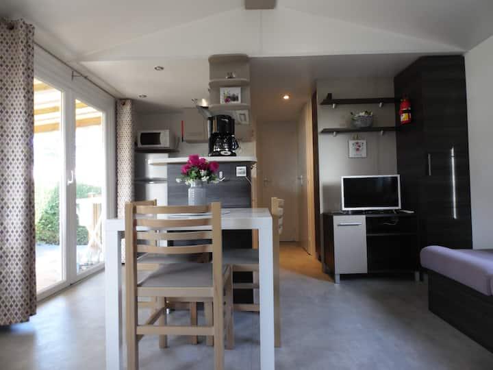MOBIL- HOME climatisé pour un agréable séjour