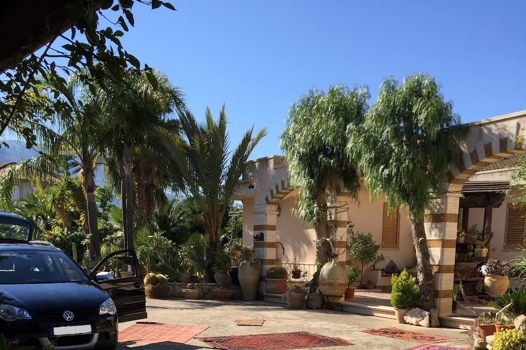 View at the Villa