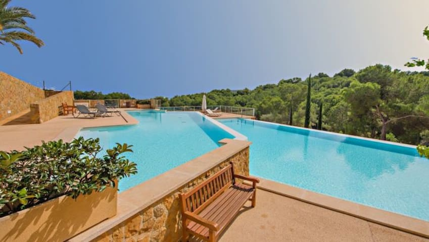 Beautiful flat in luxury complex - Sol de Mallorca - Apartament