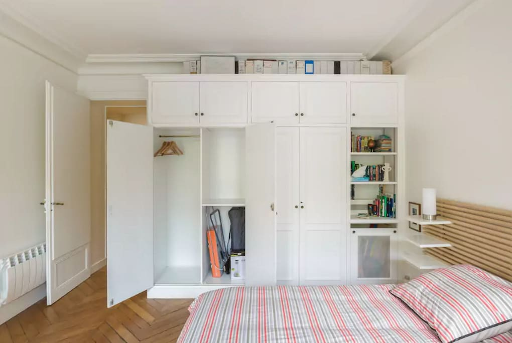 Master bedroom - cupboards