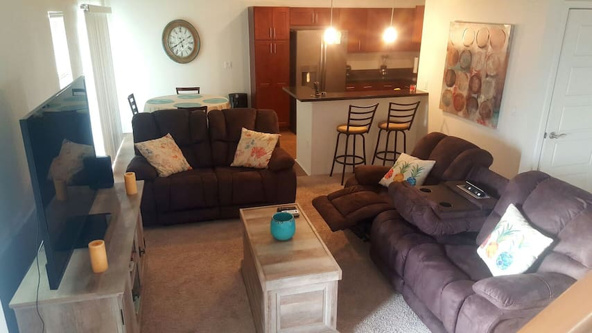 Comfy Town House (with rental car option)