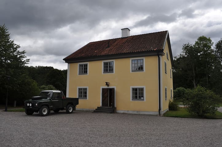 Wing of the mansion, 10 mns to Skavsta Airport - Nyköping - Wohnung