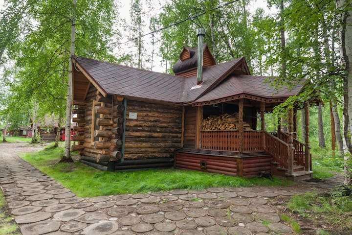 Luxury Log Cabin and All-Inclusive: Lux