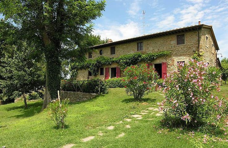Beautiful panoramic villa with large outdoor, pool - Vicchio - Willa