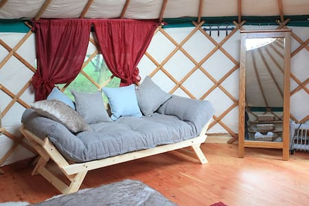 Cloudhouse Glamping - Vallum Farm Yurts - East Wallhouses - 蒙古包