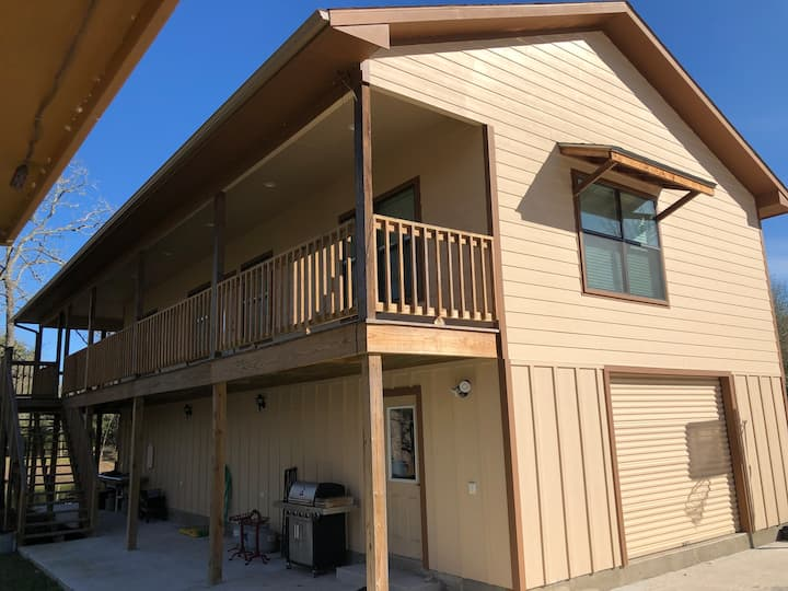 Upper Deck in Warda, Texas
