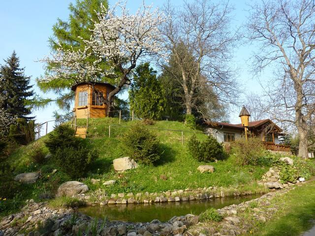 Harzer Feriengarten - Ferienhaus mit FeWo 1