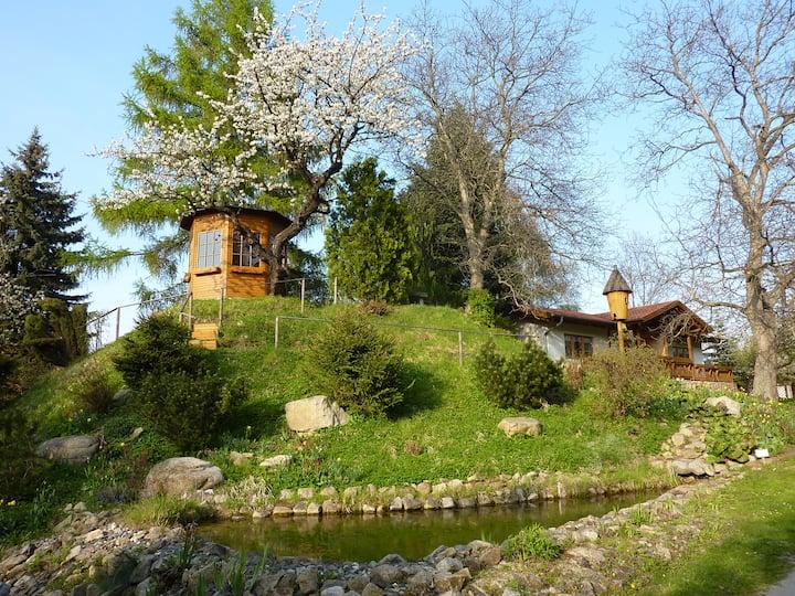 Harzer Feriengarten  4 Sterne Ferienhaus (FeWo 1)