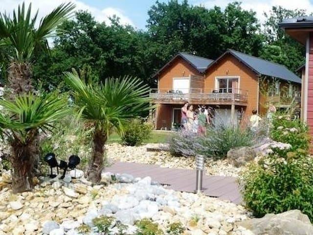 Cottage avec piscine proche de Tours et Chinon
