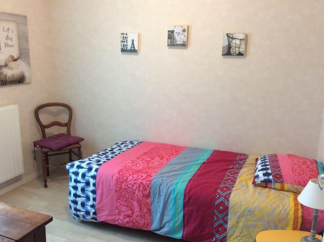 Chambre agréable dans un appart déco et chaleureux
