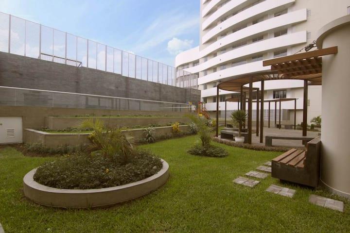 Lindo Mini Dpto un paso de San Isidro-Edifico LUX