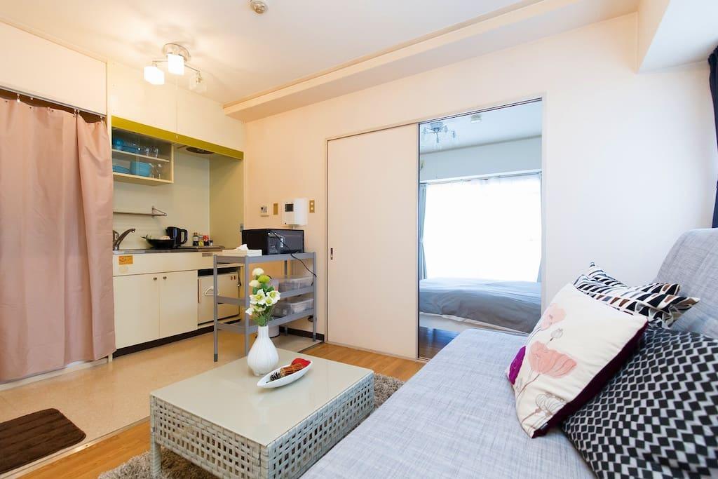 リビングルーム/Living room