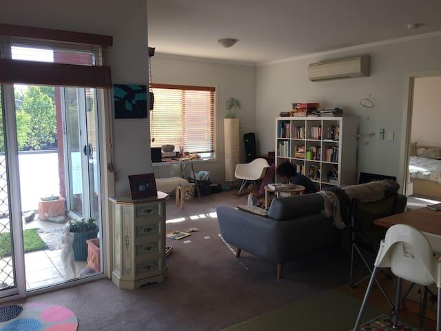 Family Friendly Apartment in Fabulous Flemington - Flemington - Apartamento