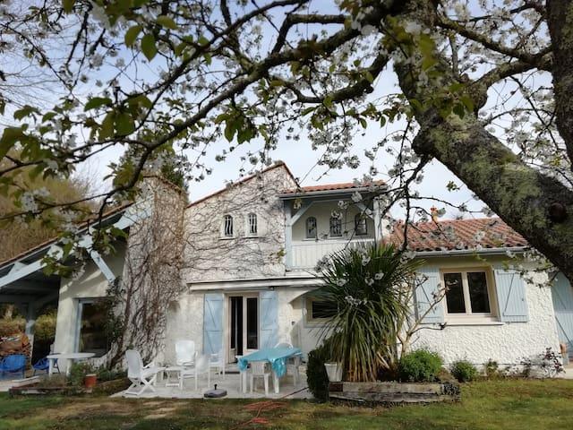 Maison calme entre Bordeaux , l'océan , le Médoc