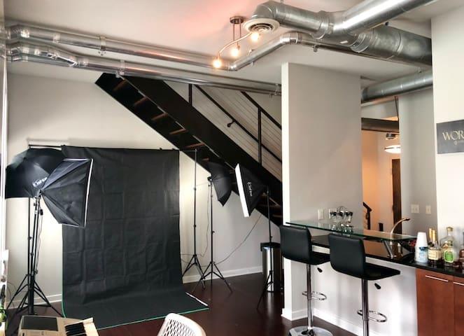 LUXURY VIP ACCESS LOFT IN ATLANTA W/ PHOTO STUDIO
