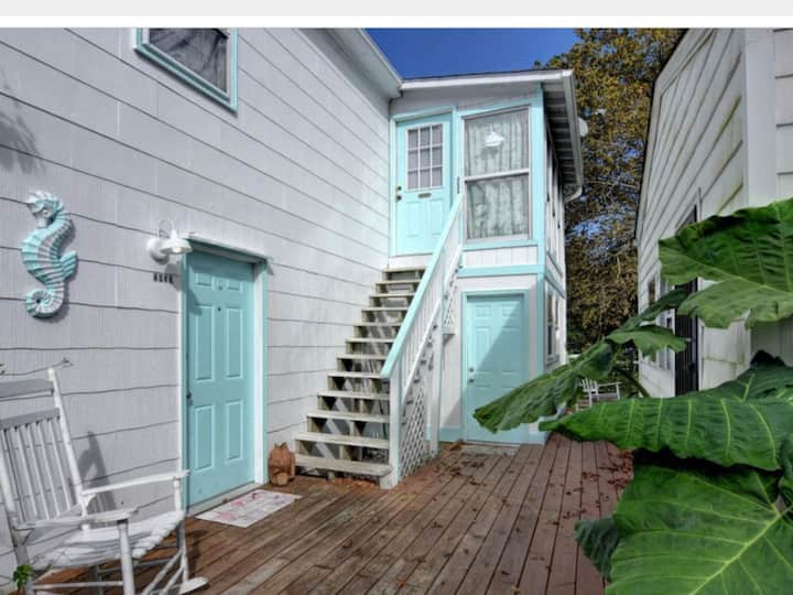 High Tide, 1 bedroom apt  upstairs unit. CB