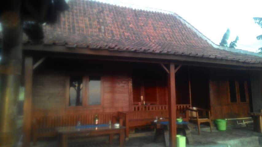Songo Wangkal Wooden House