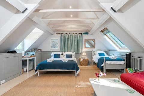 Spacious and stylish Annexe at Old Vicarage