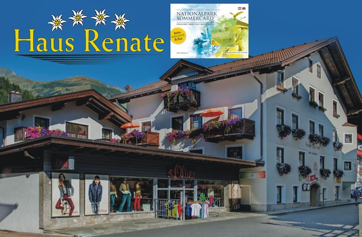****Appartmenthaus Renate 7 +Nationalparkcard