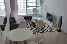 60sqm 1 br unit inclusive of 12sqm balcony