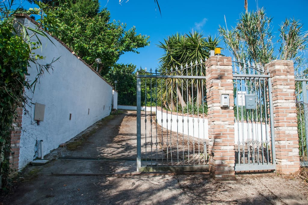 Cancello di ingresso