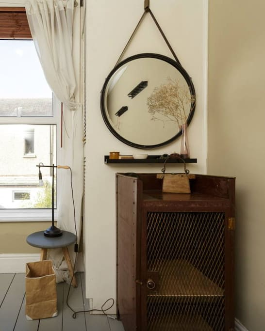 A quirky mix of antiques from all over the world.