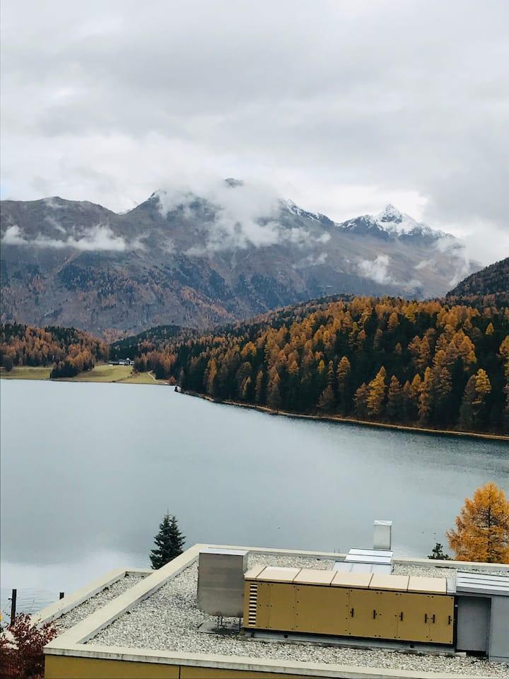stupendo appartamento con vista a Sankt Moritz