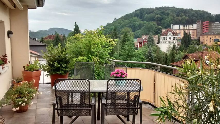 Kaiserblick über Bad Kissingen - Bad Kissingen