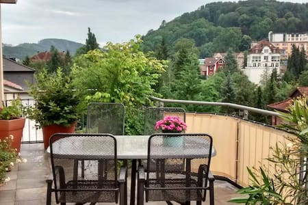 Kaiserblick über Bad Kissingen - Bad Kissingen - Daire