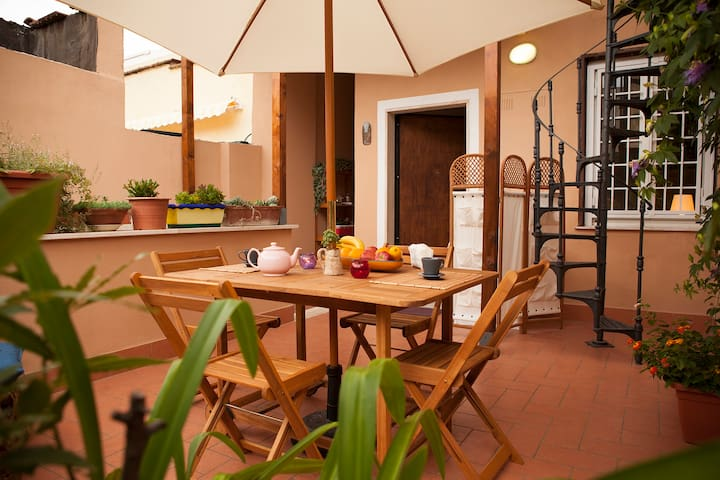 """Casa vacanze """"I Nasturzi"""" luminosa con giardino - Roma - House"""