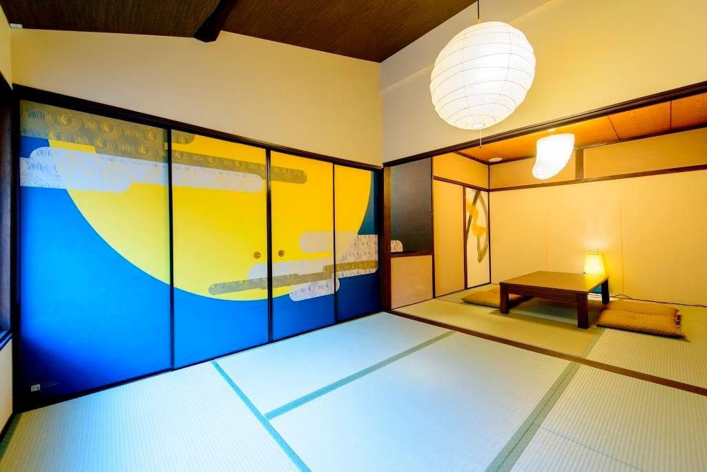 2階 月の間(9畳和室) The 2nd floor Moon's room (9 mat Japanese-style room)  ニ楼月的房间 (九榻榻米日式房间)