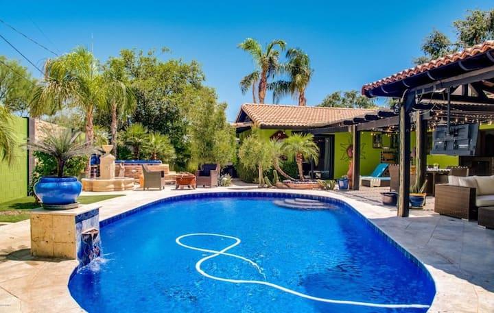 Casa Verde - Outdoor Haven in Scottsdale, Arizona