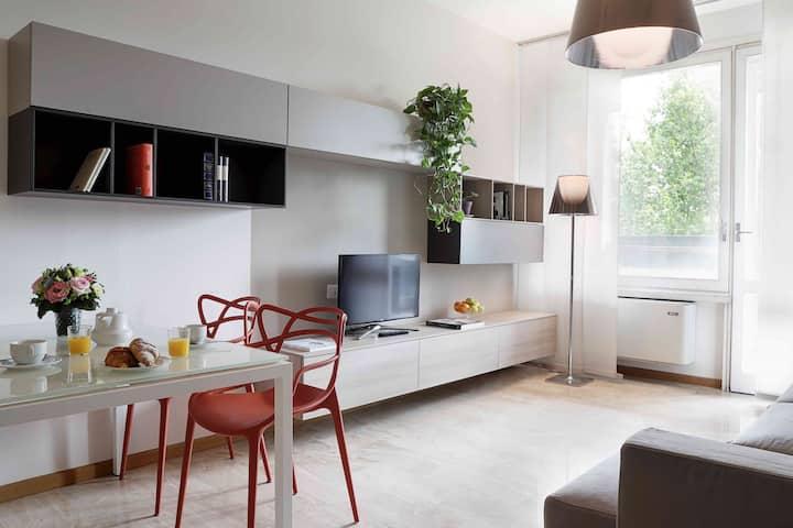 Studio Apartment Overlooking the Park - Moscova - Contempora E23