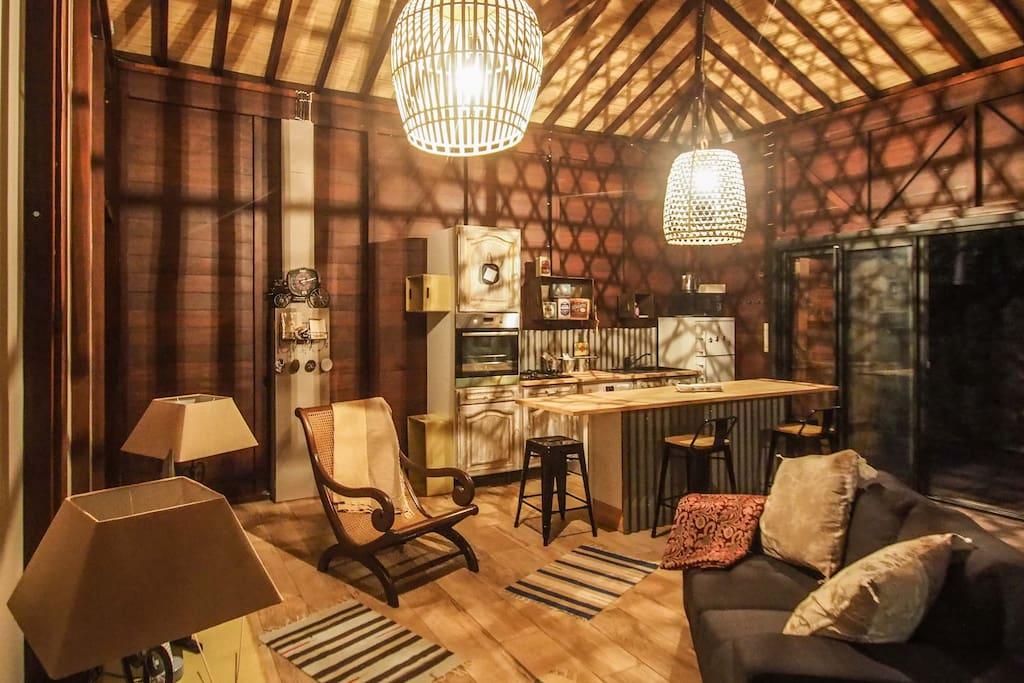 Salon avec espace Wifi