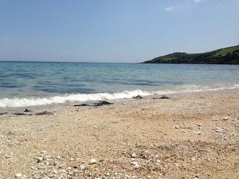 Abbastanza accogliente cottage, vista sul mare, a piedi dalla spiaggia