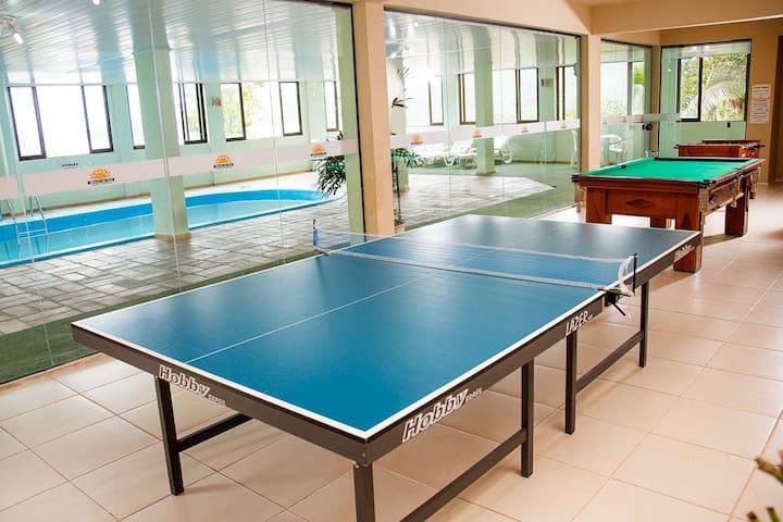 Apartamento para 5 Personas - a 5min de Bombinhas - Porto Belo - Appartement