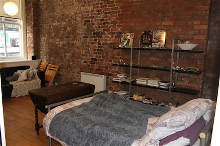 **Super central Manchester loft-style studio** - Manchester - Apartment
