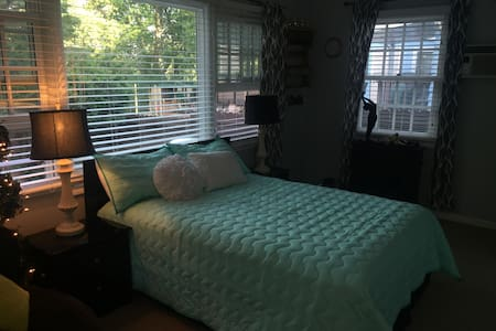 Very private, charming room, minutes to downtown! - House