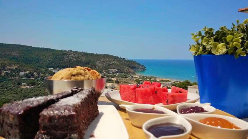 Room with panoramic terrace in b&b - Peschici - Bed & Breakfast