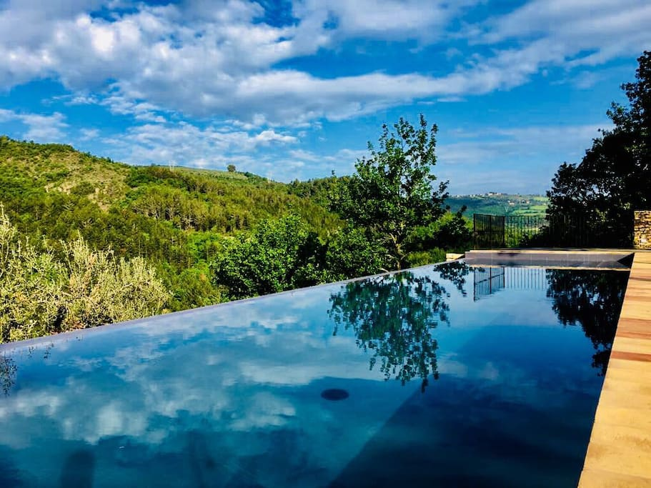 The new 16x4 infinity Private pool