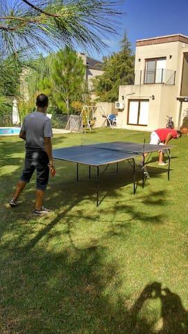 Cancha de Ping pong