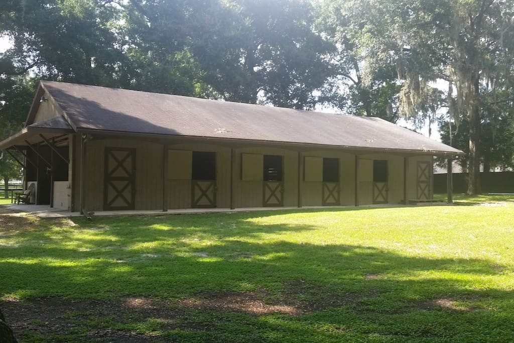 Lodging for your horses too! Riding Arena Available!
