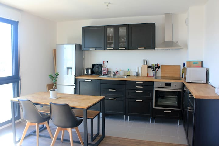 Lovely 2 bedrooms for 4 guests   - Bordéus - Apartamento