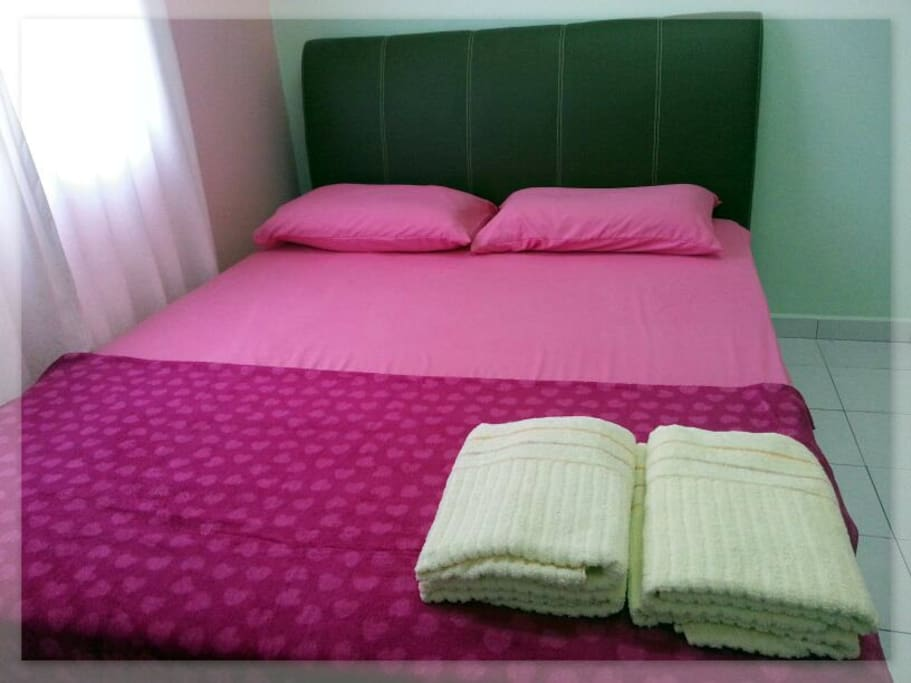 Air-conditioned Master bedroom