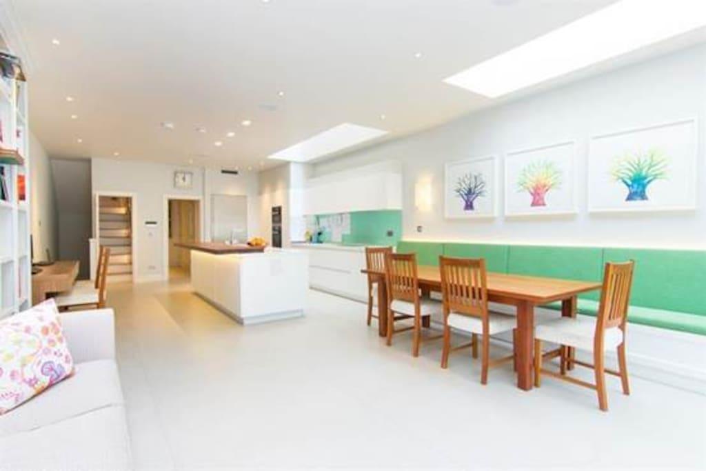 Kitchen from garden