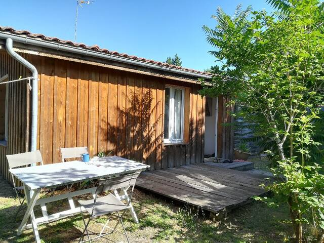 CHARMING WOODEN CHALET 2 ANDERNOS-LES-BAINS