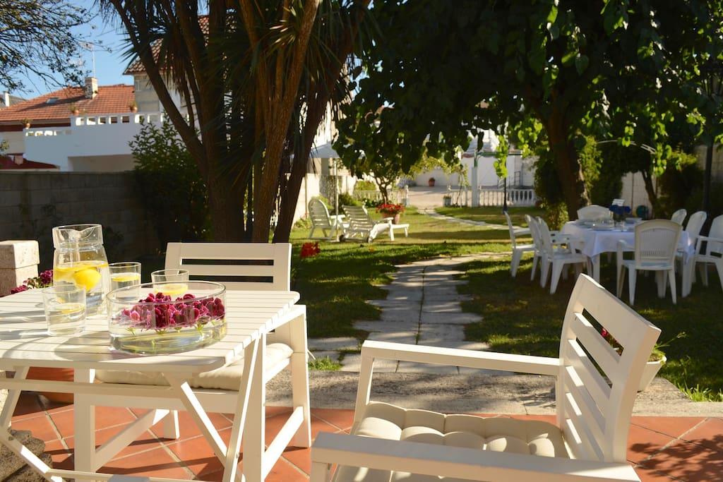 Fabulous casa la vi a in samil beach vigo wifi - Tumbonas aki ...