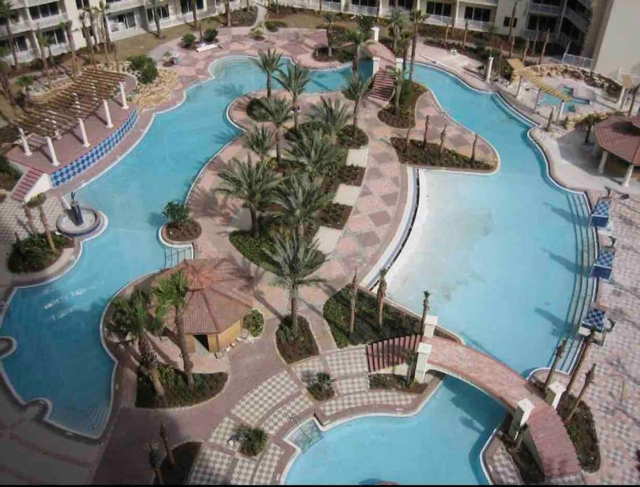 Pool of the complex